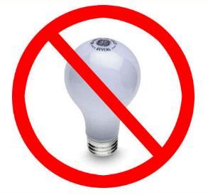 Светодиодные лампы и светильники вместо ламп накаливания !