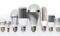 Светодиодные лампы у нас дома