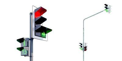 В России предложили перейти на квадратные светофоры!