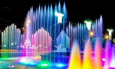 Светильники из нержавеющей стали для подсветки водоемов и фонтанов!