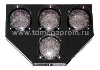 Светофор транспортный светодиодный Т.5.1 100мм  (арт.78-919)