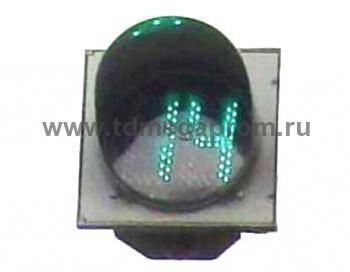 Табло светофорная секция ТООВ-300G   (арт.78)
