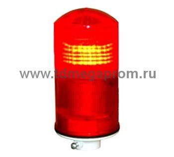 Светодиодный заградительный огонь СДЗО-05 (поликарбонат) ЭКОНОМ (арт.01)