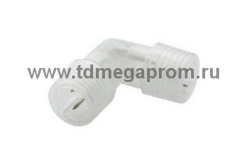 L-коннектор для LED-DL/XD-2W (круглого двухпроводного дюралайта фиксинга)   (арт.30-4016)