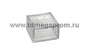 Заглушка  для плоского дюралайта 11х18mm   (арт.30-4012)