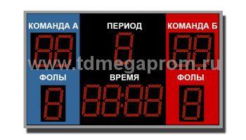Табло спортивное универсальное ТС-У-6    (арт.03-4475)