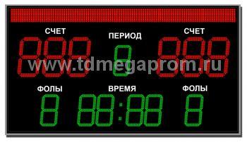 Табло для баскетбола ТС-Б-6 (арт.03)