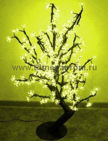 """Светодиодное дерево """"Сакура""""  LED-CBL-Table-224-Y         (арт.30-4693)"""