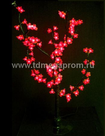 """Светодиодное дерево """"Сакура""""  LED-CBL-Table-96-R (арт.30)"""