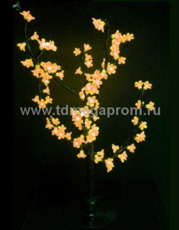 """Светодиодное дерево """"Сакура""""  LED-CBL-Table-96-Y (арт.30)"""