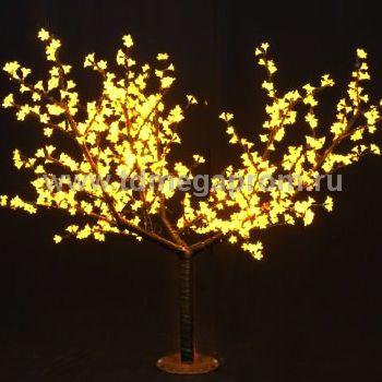"""Светодиодное дерево """"Сакура""""  LED-CBL-2.5-1728-Y (арт.30)"""