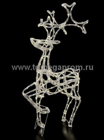 """Объемная фигура  """"ОЛЕНЬ 3D""""   LED-MPD-020   (арт.30-5492)"""