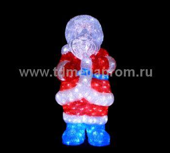 "Акриловая фигура  ""ДЕД МОРОЗ 3D""  LED-MPF-025  (арт.30-3454)"