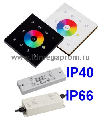 DMX панель сенсорная  LED NF-5     (арт.50)
