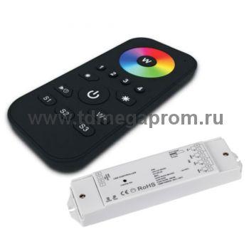 Контроллеры RGB/RGBW с сенсорным мультизонным пультом на 1...4 зоны
