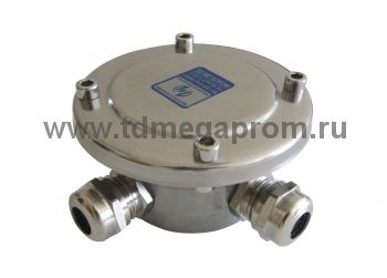 Коробка подводная 4 ввода (нерж. сталь, IP68)