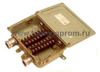 Коробка клеммная электромонтажная КЗНС-16 (арт.107-133)