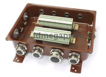 Коробка клеммная электромонтажная КЗНС-48 (арт.107-3394)