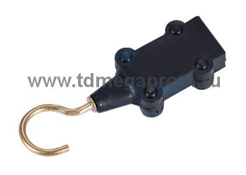 Заглушка с крюком для двухжильного кабеля Белт-Лайт (арт.33)