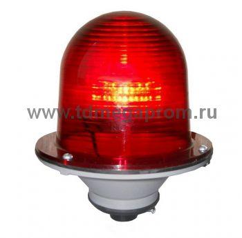 Светодиодный заградительный огонь ЗОМ-ЛСД (поликарбонат)  (арт.01)