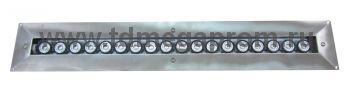 Подводный линейный светильник светодиодный СДП-50Н (арт.10)
