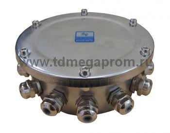 Коробка подводная12 вводов (нерж. сталь, IP68)