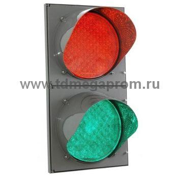 Светофор двухсекционный светодиодный Т.8.1 200мм