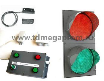 Блок управления светофором Т.8 для автоматических ворот с датчиком положения (БУСС-АУДП) (арт.01-5415)