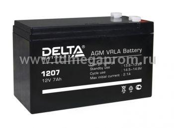 Аккумуляторная батарея DT-1207 AGM (арт.117-6550)