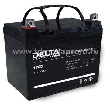 Аккумуляторная батарея DT-1233 AGM (арт.117-7906)