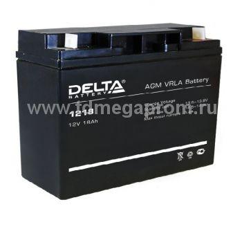Аккумуляторная батарея DT-1218 AGM (арт.117-7905)