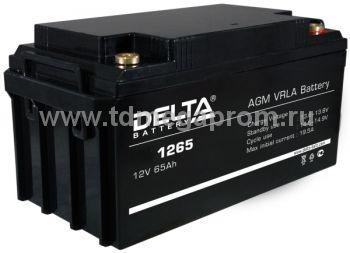 Аккумуляторная батарея DT-1265 AGM (арт.117-7907)