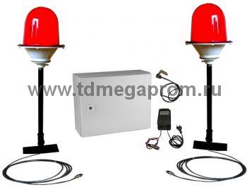 Автономная система временного светового ограждения на АКБ (ВСО-55)   (арт.01-10297)