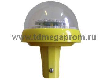 Светодиодный заградительный огонь ЗОМ-ППМ-А-К-48 (с подогревом антиобледенение) (арт.23-2413)