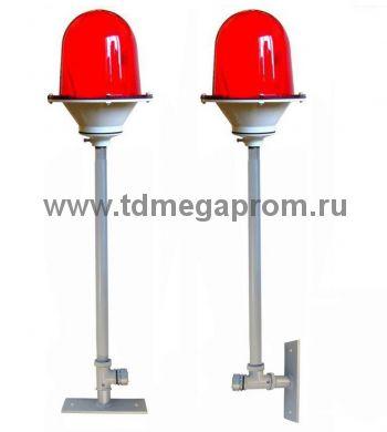 Опорная стойка универсальная ОС(У)-60-3/4 для заградительного огня (для монтажа на горизонтальную или вертикальную поверхность) (арт.01-17029)