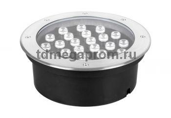 Грунтовый встраиваемый светильник СДУ-СП2707 (арт.28-14993)