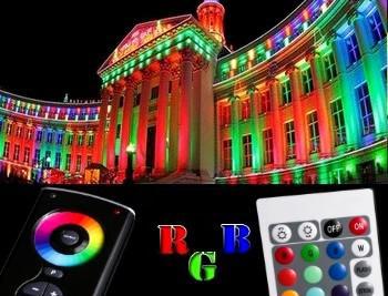 RGB прожекторы и светильники