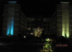 Архитектурная RGB подсветка, 2009г