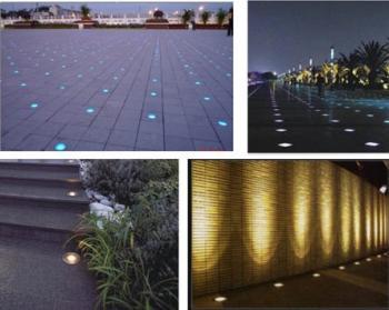Применение грунтовых светодиодных светильников
