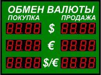 Табло курсов валютР-100-3