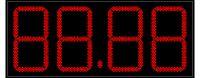 Электронное табло АЗС  АЗС-450-3Кд (арт.03)