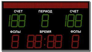 Табло спортивное универсальное ТС-У-7  (арт.03)