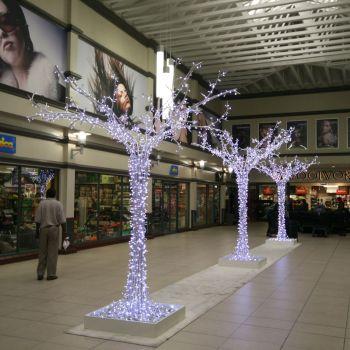 Световые и новогодние деревья
