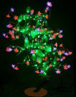 "Светодиодное дерево ""Сакура с зелеными листьями""  LED-CBL-Table(NEW)-RP"