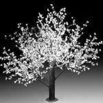 """Светодиодное дерево """"Сакура""""  LED-CBL-3.6-2688-W (арт.30)"""