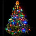 """Новогодняя ель  с LED гирляндой  """"в ассортименте"""" (арт.99)"""