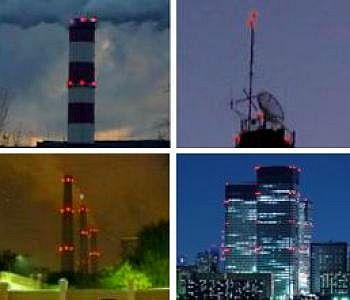 Заградительные огни и системы светового ограждения