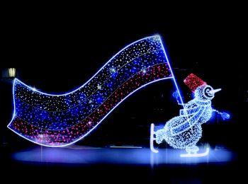 Большие светодиодные конструкции (новогодние, праздничные)