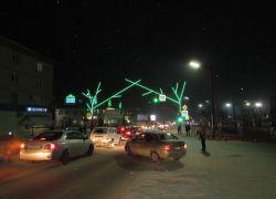 Зеленое свечение светодиодного неона