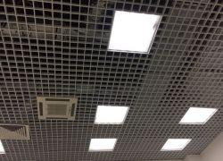 Установка светодиодных светильников в